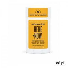 Schmidt's here + now   naturalny dezodorant w sztyfcie do skóry wrażliwej - współtworzony pr - ogłoszenia A6.pl