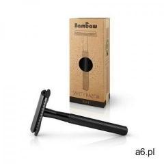 wielorazowa maszynka do golenia + żyletka czarna marki Bambaw - ogłoszenia A6.pl