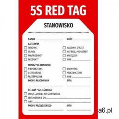 Magnes suchościeralny etykieta red tag 02 - ogłoszenia A6.pl