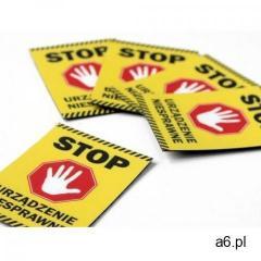 Magnes ostrzegawczy bhp - stop - ogłoszenia A6.pl