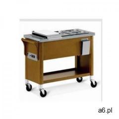 Diamond Wózek drewniany   bemar 3x gn 1/2   1950w   230v   1040x400x(h)870mm - ogłoszenia A6.pl