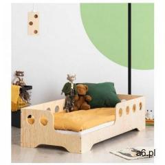 Lewostronne łóżko drewniane dziecięce 16 rozmiarów - Filo 4X, Kiki-5-L - ogłoszenia A6.pl
