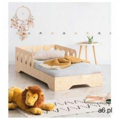 Drewniane pojedyncze łóżko dziecięce 16 rozmiarów - Filo 5X, Kiki-6 - ogłoszenia A6.pl