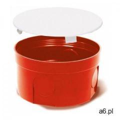 Puszka podtynkowa 80 z pokrywą 0283-00 pomarańczowa Elektro-Plast - ogłoszenia A6.pl