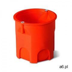 Puszka podtynkowa 60mm głęboka z wkrętami pomarańczowa PK-60 LUX 0206-51 (5907569154098) - ogłoszenia A6.pl