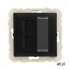 Gniazdo komputerowe logus 90 czarny marki Efapel - ogłoszenia A6.pl