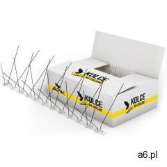 Kolce na ptaki, gołębie. Szerokie, gęste kolce przeciw ptakom AVIK R180. 40 mb. 120 modułów. - ogłoszenia A6.pl