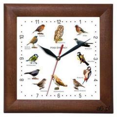 Zegar drewniany kwadrat z głosami ptaków #2, ATW2650PS2 - ogłoszenia A6.pl