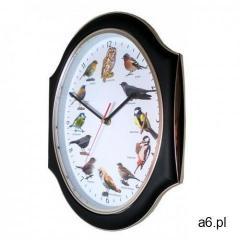 Zegar ozdobny z głosami ptaków B #2 - ogłoszenia A6.pl