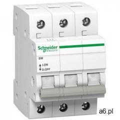 Rozłącznik izolacyjny modułowy SW 3P 63A 415VAC A9S62363 Schneider Electric, A9S62363 - ogłoszenia A6.pl