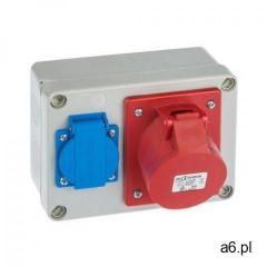 Rozdzielnica elektryczna bez wyposażenia RS 6261 - 00 / 2P + Z 3P + N + Z 16A ELEKTRO-PL - ogłoszenia A6.pl