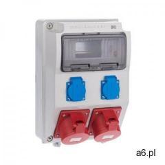 Rozdzielnica elektryczna bez wyposażenia RS 1 / 9 6222 - 00 / 2 X 2P + Z 2 X 3P + N + Z  - ogłoszenia A6.pl