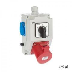 Rozdzielnica elektryczna bez wyposażenia 6275 - 20 / RS - Z L - 0 - P 2P + Z 3P + N + Z  - ogłoszenia A6.pl