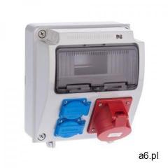 Elektro-plast Rozdzielnica elektryczna bez wyposażenia rs 1 / 9 6232 - 00 / 2 x 2p + z 3p +  - ogłoszenia A6.pl