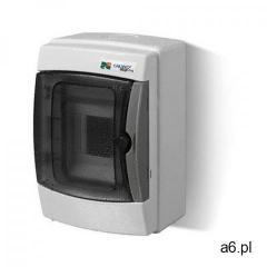Rozdzielnica 1x4 natynkowa IP65 1601-01 Galant-Plus Elektro-Plast (5907569158935) - ogłoszenia A6.pl