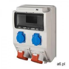 Rozdzielnica siłowa rs natynkowa 9-modułowa 2x230v 2x16a/5p 6221-00 elektro-plast marki Elektro-plas - ogłoszenia A6.pl