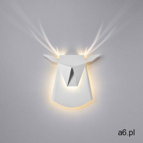 Kinkiet JELEŃ biały - LED, stal węglowa (5900168813410) - 1