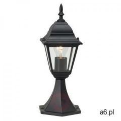 Brilliant newport zewnętrzna lampa słupek czarny, 1-punktowy - klasyczny - obszar zewnętrzny - newpo - ogłoszenia A6.pl