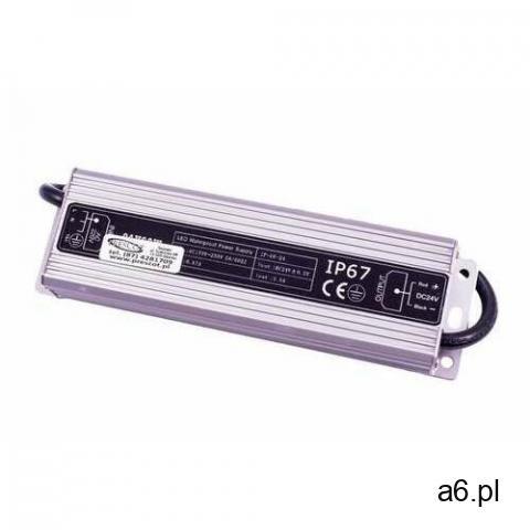 ip-60-24 zasilacz 60w czarny marki Prescot - 1