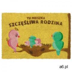 Wycieraczka z nadrukiem TU MIESZKA SZCZĘŚLIWA RODZINA - ogłoszenia A6.pl