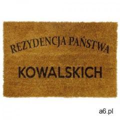 Wycieraczka do domu z napisem - ogłoszenia A6.pl