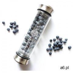 Ekologiczna, szklana butelka termiczna z zaparzaczem do naparów i owoców 420ml - ogłoszenia A6.pl