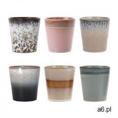 HKliving Zestaw 6 ceramicznych kubeczków 70's ACE6750, ACE6750 - ogłoszenia A6.pl