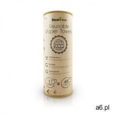 Bambaw naturalne wielorazowe ręczniki papierowe z bambusa biodegradowalne 20 szt (5430000934466) - ogłoszenia A6.pl