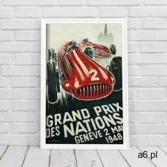 Plakat retro Plakat retro Grand Prix des Nations Geneve - ogłoszenia A6.pl
