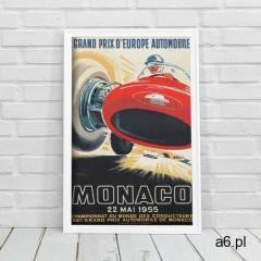 Vintageposteria.pl Plakat na ścianę plakat na ścianę grand prix monako - ogłoszenia A6.pl