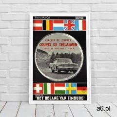 Plakat retro plakat retro plakat rending car marki Vintageposteria.pl - ogłoszenia A6.pl