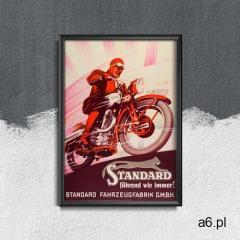 Plakat vintage Plakat vintage Motocykl - ogłoszenia A6.pl