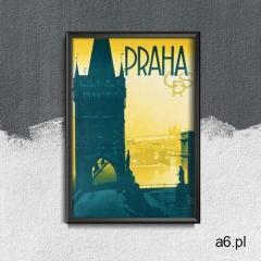 Retro plakat retro plakat praga czeski marki Vintageposteria.pl - ogłoszenia A6.pl
