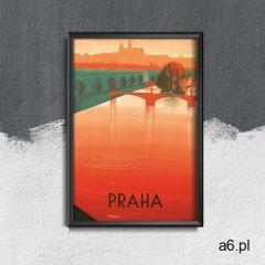 Plakat retro Plakat retro Praga czeski - ogłoszenia A6.pl