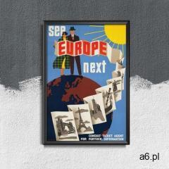 Vintageposteria.pl Plakat vintage plakat vintage europa - ogłoszenia A6.pl