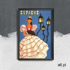 Vintageposteria.pl Retro plakat retro plakat hiszpania - ogłoszenia A6.pl