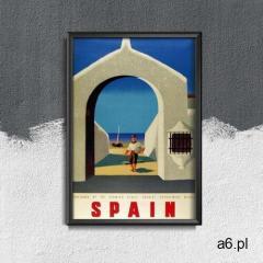 Retro plakat Retro plakat Hiszpania - ogłoszenia A6.pl