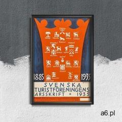 Vintageposteria.pl Retro plakat retro plakat szwecja - ogłoszenia A6.pl