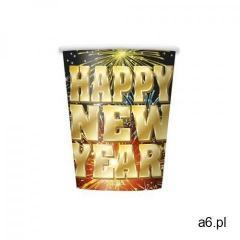 Kubeczki fajerwerki happy new year - 260 ml - 8 szt. marki Unique - ogłoszenia A6.pl