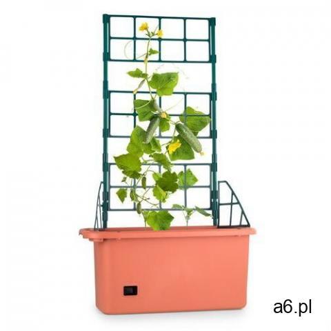 Waldbeck Tomato Power Planter pojemnik do hodowli roślin 75x130x35cm 3-poziomowa podpora PP mobilny - 1