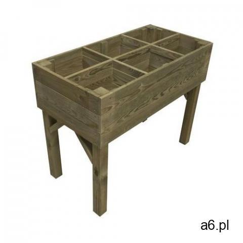 Stelmet Warzywnik - zielnik 100 x 50 cm drewniany (5900886390194) - 1