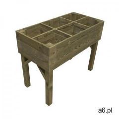 Stelmet Warzywnik - zielnik 100 x 50 cm drewniany (5900886390194) - ogłoszenia A6.pl