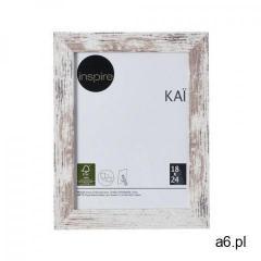 Inspire Ramka na zdjęcia kai 18 x 24 cm biała shabby mdf (3276000394594) - ogłoszenia A6.pl