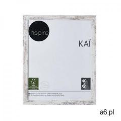 Inspire Ramka na zdjęcia kai 40 x 50 cm biała shabby mdf - ogłoszenia A6.pl