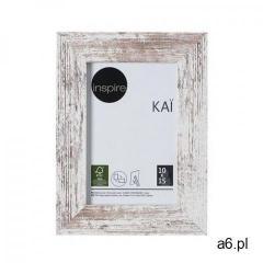 Inspire Ramka na zdjęcia kai 10 x 15 cm biała shabby mdf (3276000394556) - ogłoszenia A6.pl