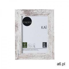 Inspire Ramka na zdjęcia kai 13 x 18 cm biała shabby mdf (3276000394570) - ogłoszenia A6.pl