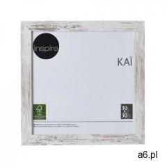 Ramka na zdjęcia kai 30 x 30 cm biała shabby mdf marki Inspire - ogłoszenia A6.pl