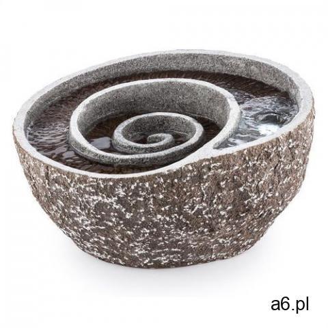 Blumfeldt spiro fontanna ogrodowa led 47x41x23,5 cm pompa optyka kamienia naturalnego (4260457481333 - 1