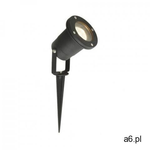 Reflektor ogrodowy ADA IP44 czarny aluminium GU10 INSPIRE (3276005708556) - 1
