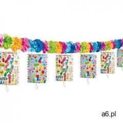 Girlanda kolorowe lampiony - 360 cm marki Folat - ogłoszenia A6.pl